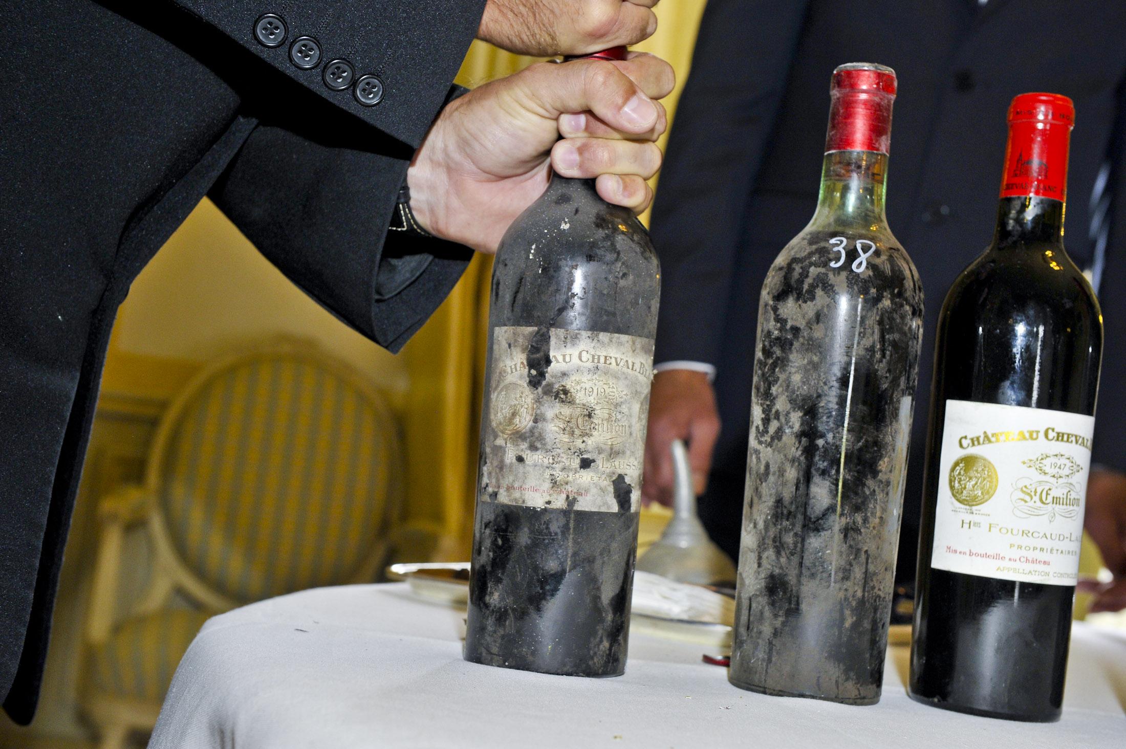 Chateau Cheval Blanc, degustation historique_Saint-Emilion, le 14 mai 2011