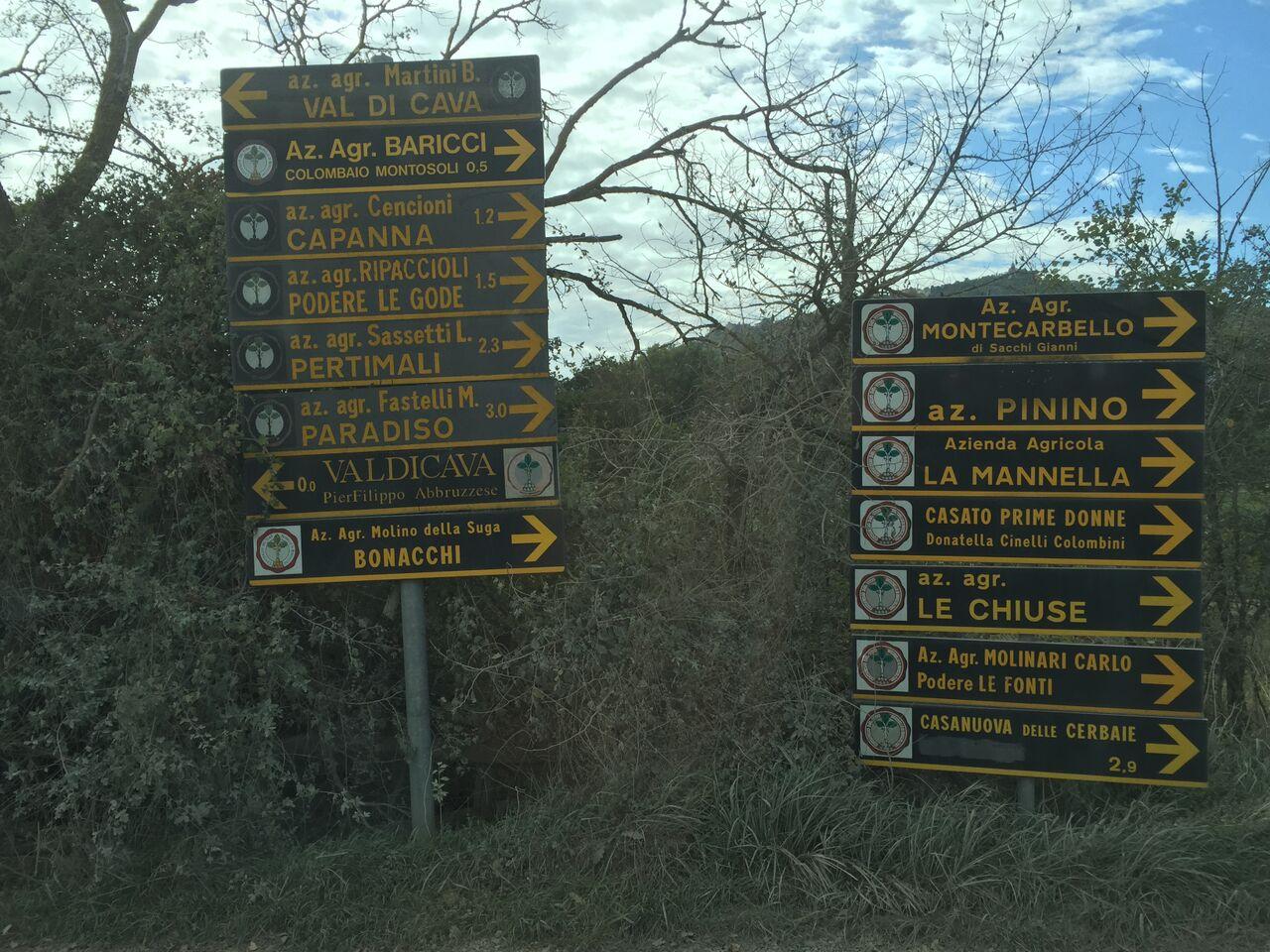Pinino-signs