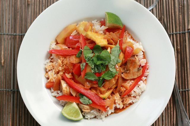 Vegetarian Thai Red Curry by Jennifer