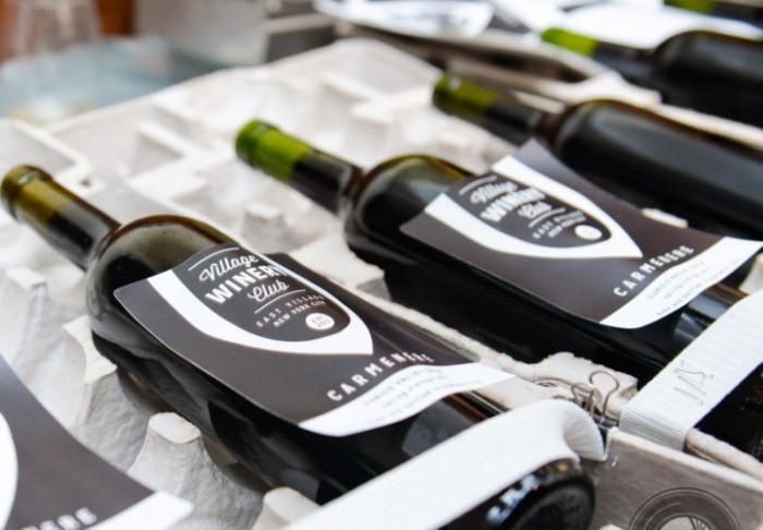 Members are invited to events like bottling day, where they put the juice in the bottle and label it.
