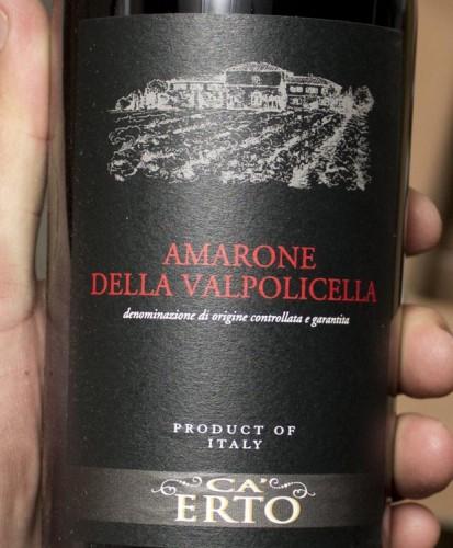 Ca' Erto Amarone della Valpolicella 2011