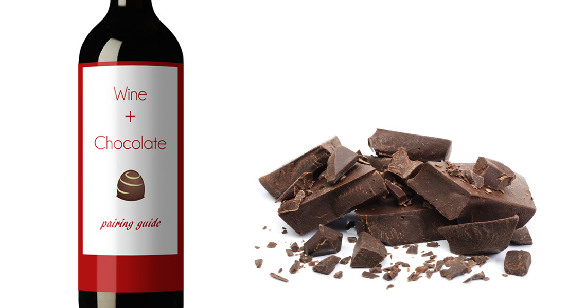 Pair wine and chocolate for a irresistibly delicious valentine's day treat