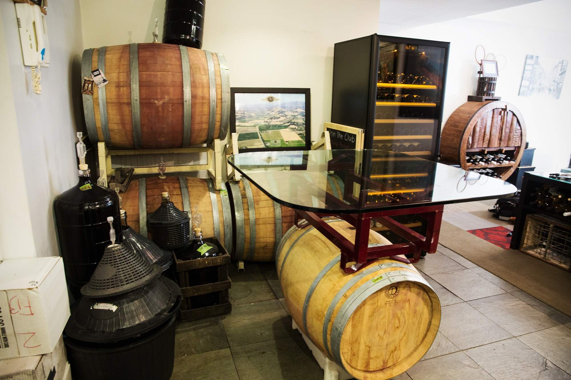 This guy made his 550sf NYC apartment into a full blown urban winery