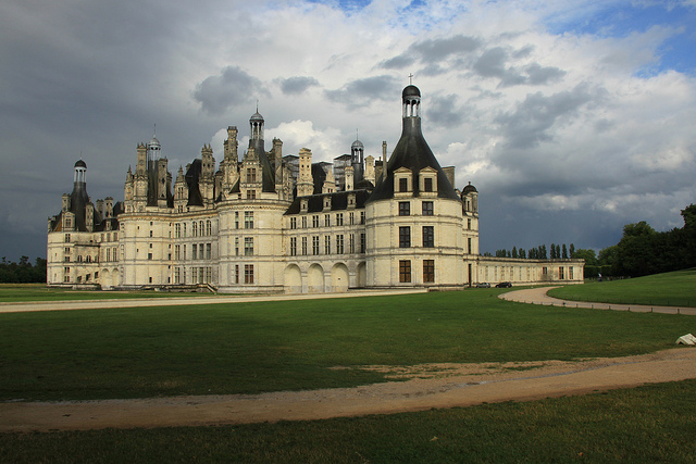 Loire is filled with impressive castles. Photo by Christian Bortes