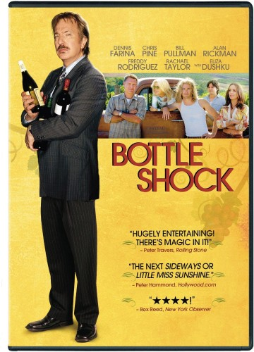 Bottle Shock the movie doesn't have much to do with the term, instead referring to the shock when California wines triumphed over their French counterparts.