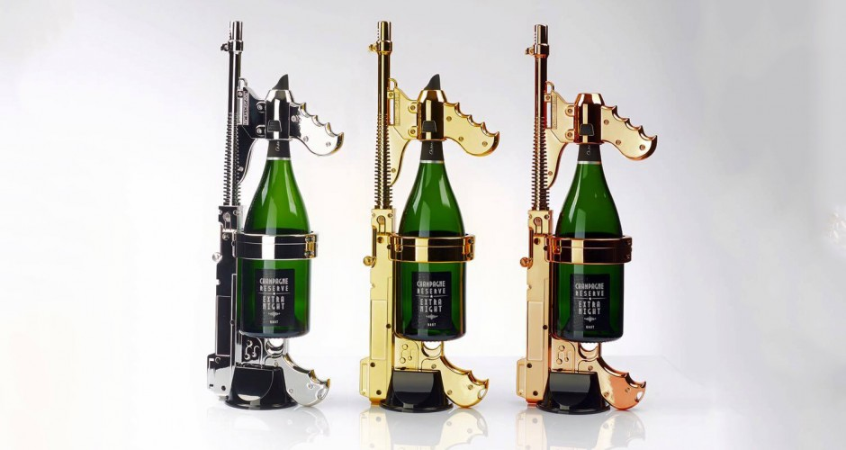 This Brut Blasting Champagne Gun Is A Thing