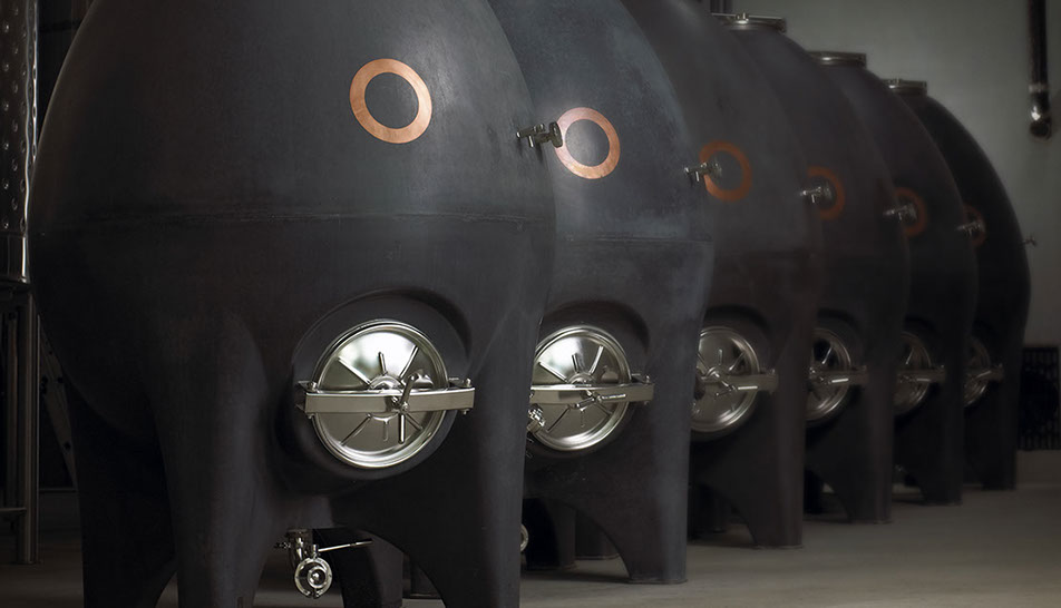 Why Some Winemakers Think Concrete Eggs Channel Mystical Energy