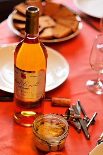 Foie Gras with Sauternes. Photo by Laurent Espitallier