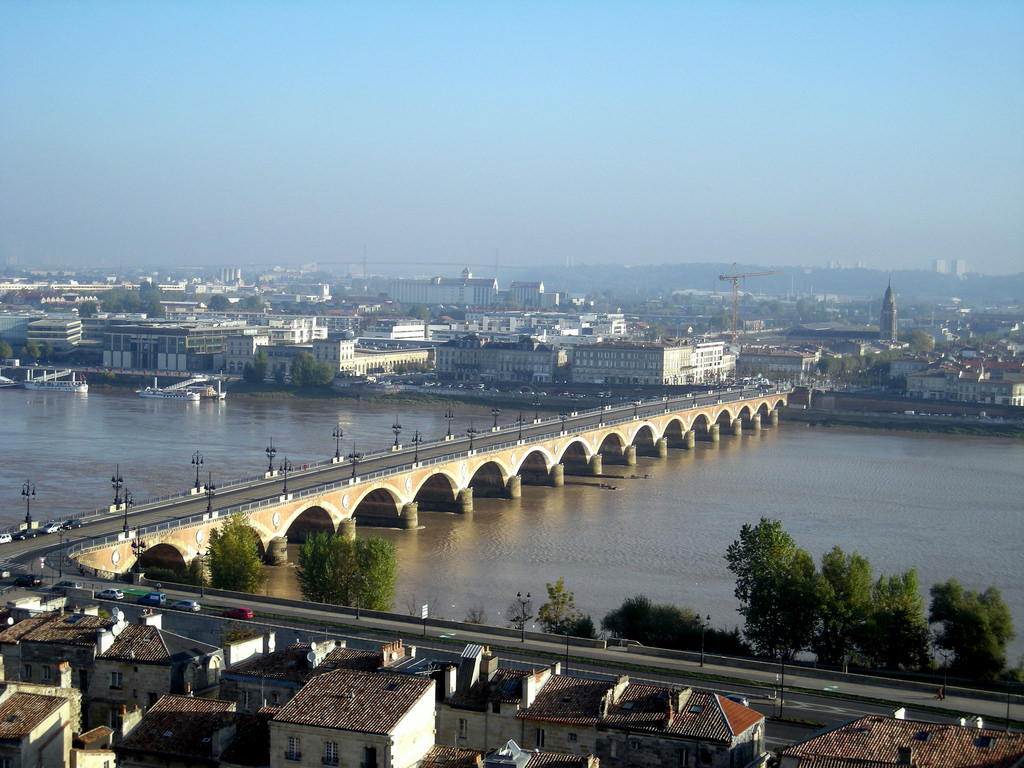 On a basic level, Bordeaux can be understood by its relation to the river. Photo by Dhinal Chheda