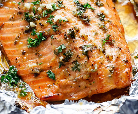 honey-garlic-butter-salmon-in-foil-recipe-7