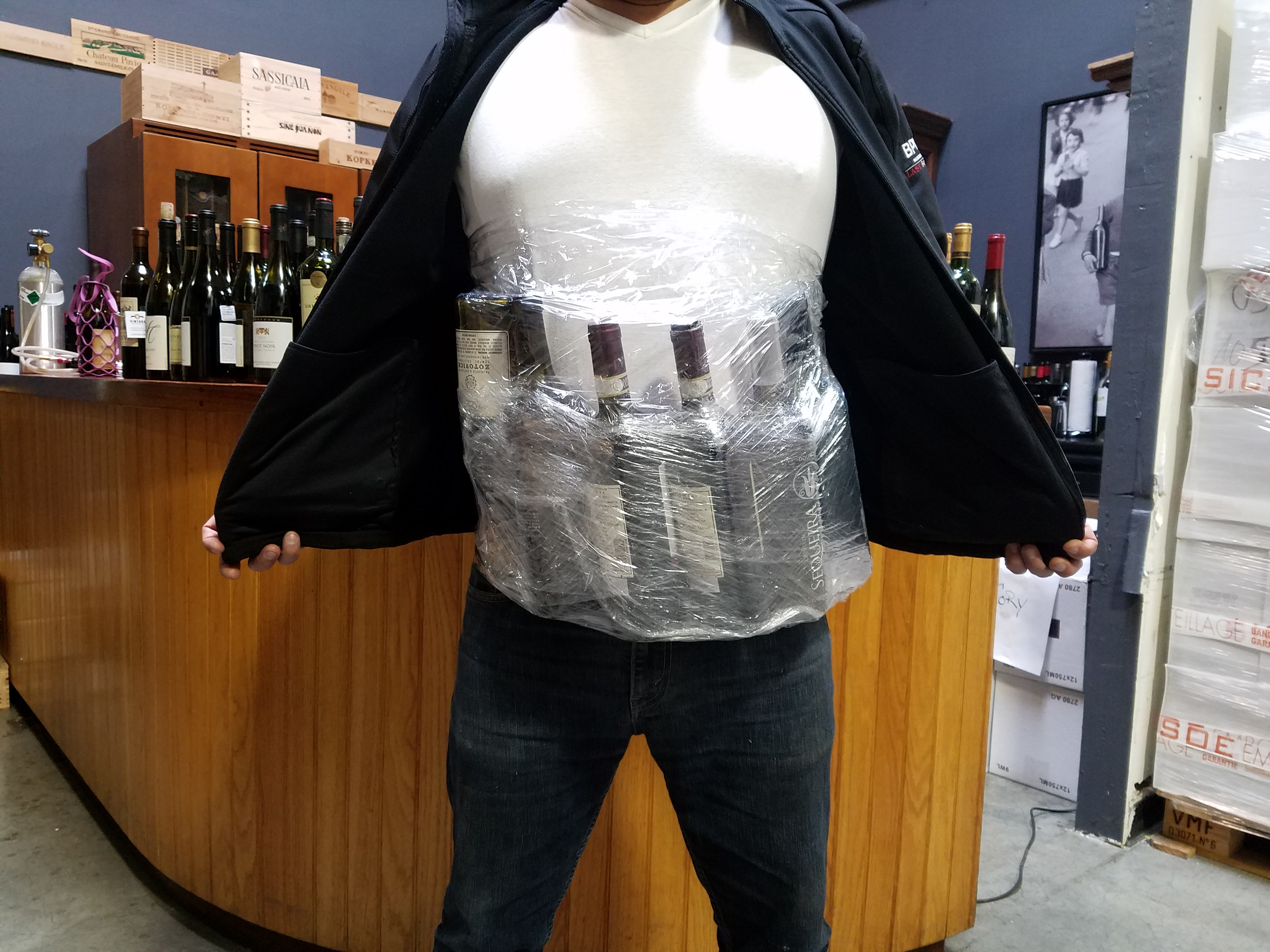 10+ ways to master the art of smuggling booze