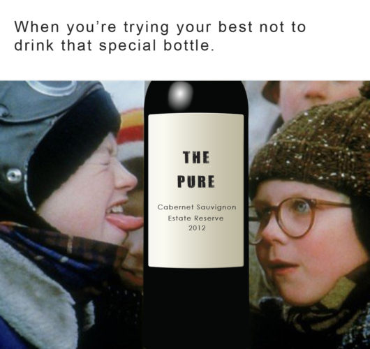 Good wine meme