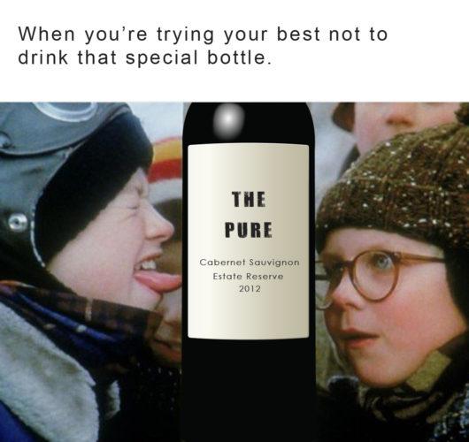 Good wine meme