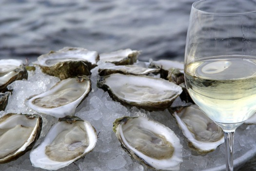 Oysters and Albariño go together like pb & j.