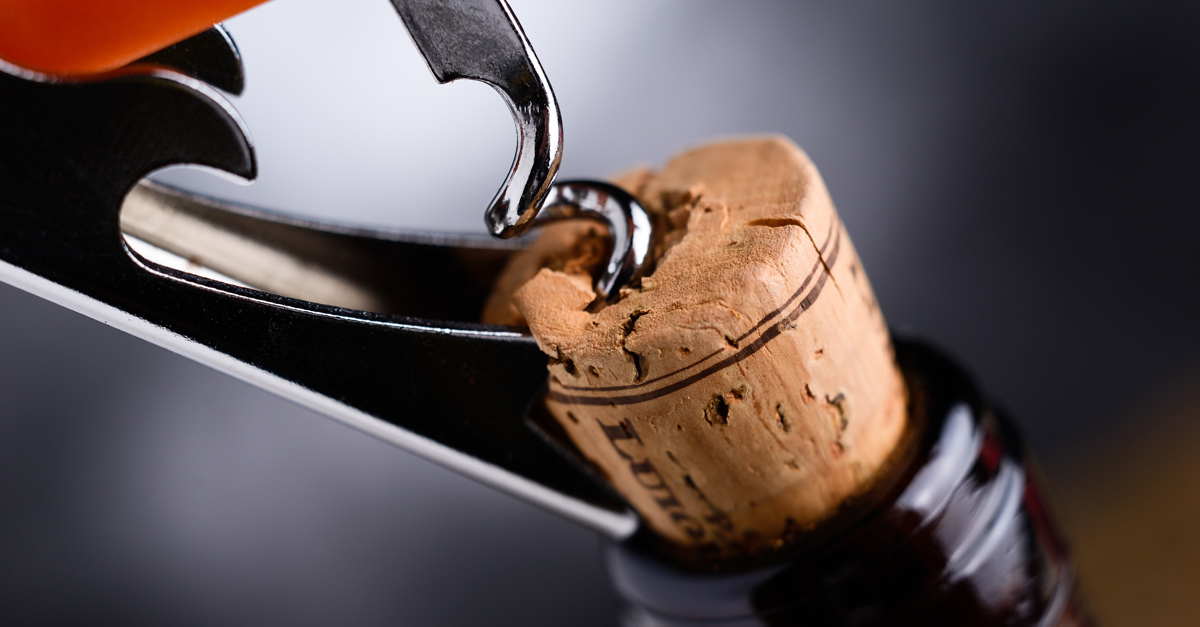 Go ahead, smell the cork if you want