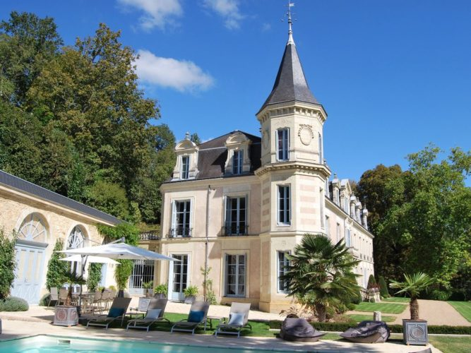 Loire is filled with majestic castles large and small. The one pictured is a shed by most standards in the area!