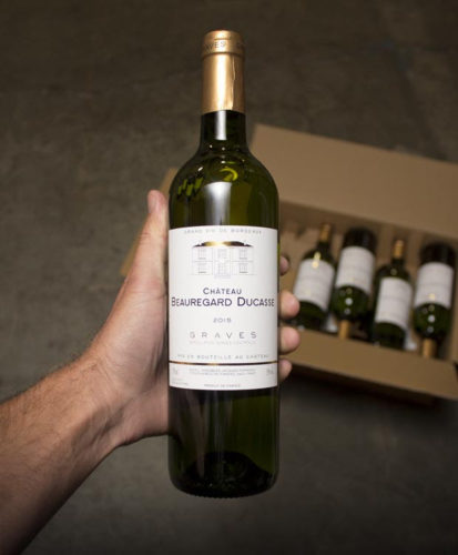 This White Bordeaux from Ducasse comes loaded with green papaya, lemon/lime, waxy yellow fruit, lemon creme and nuts.