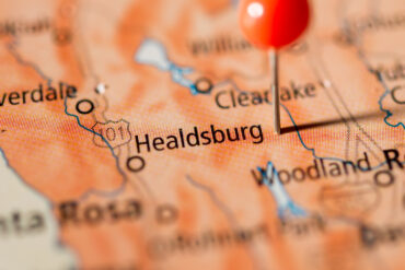 Healdsburg Map